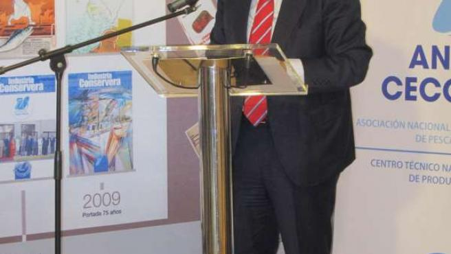 El secretario general de Anfaco, Juan Manuel Vieites