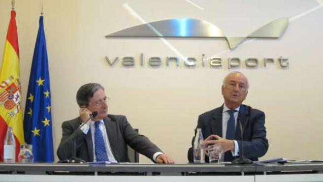 El Presidente De La APV, Rafael Aznar, En Rueda De Prensa.