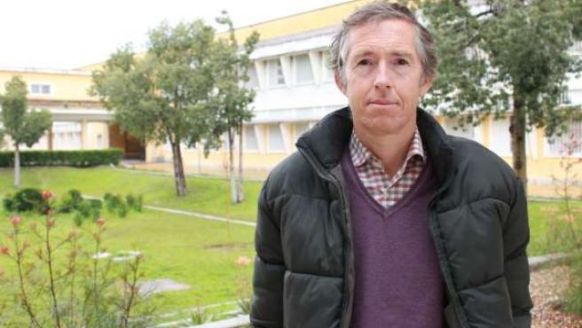 El catedrático de la UPO Carlos Alarcón