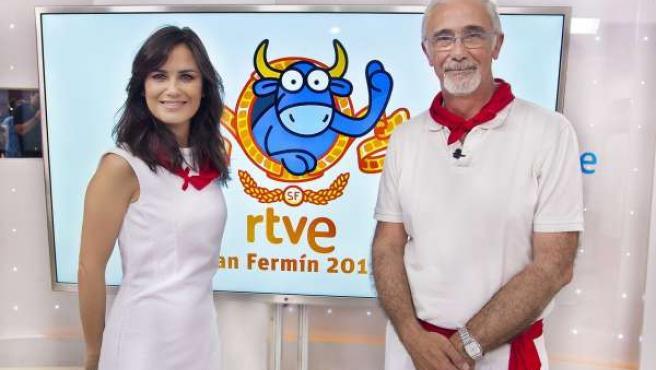 Elena S Sánchez y Javier Solano San Fermín 2015