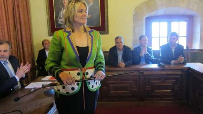 Esther Bolado, nueva alcaldesa de Camargo