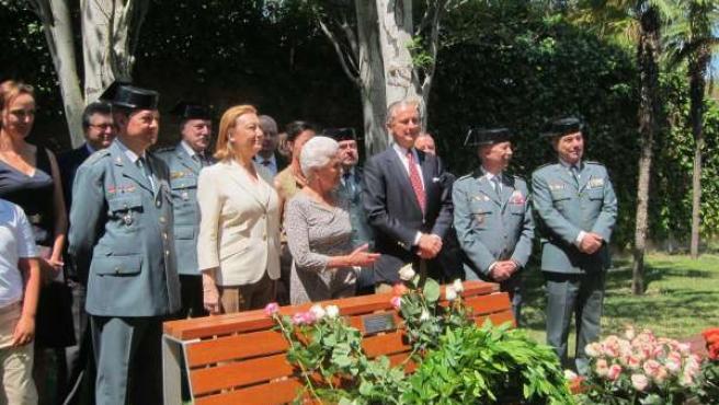 Acto conmemorativo del 20 aniversario del secuestro de Publico Cordón.