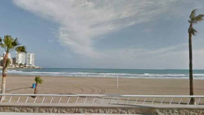 Imagen de la playa de la Concha de Oropesa del Mar, en Castellón.