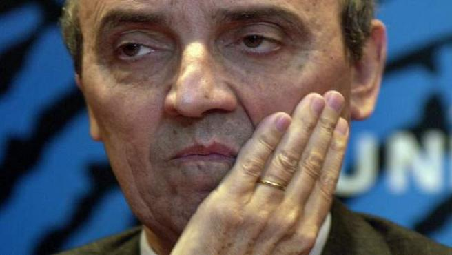El expresidente del FC Barcelona, Joan Gaspart.