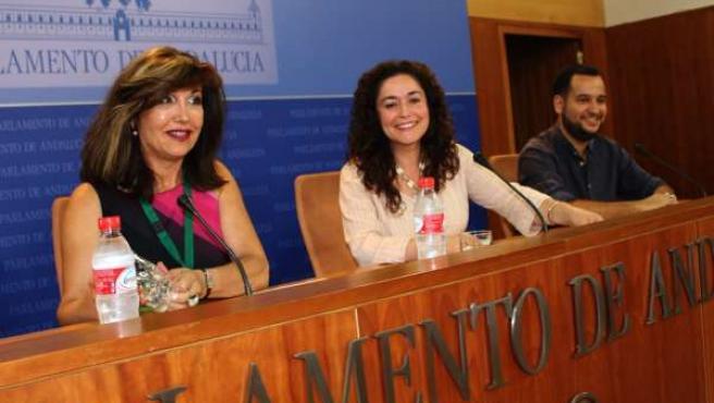 Cambrollé, Nieto y González en rueda de prensa