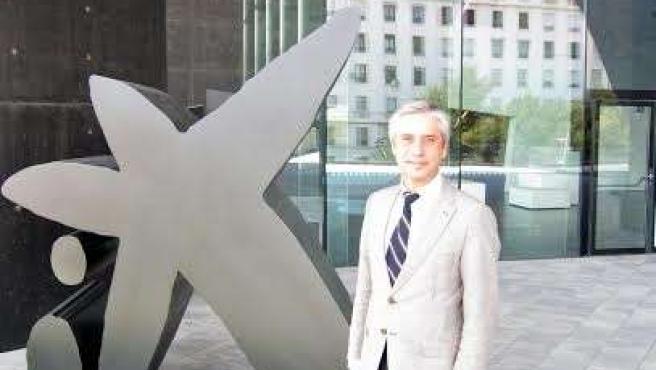 El director del CaixaForum, Ricardo Alfós