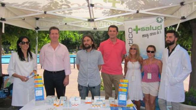 Séptima edición de la campaña 'Sol sin riesgo' en las piscinas de Zaragoza