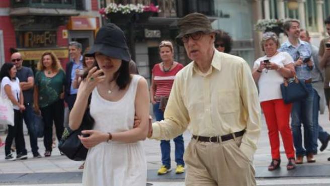 Woody Allen en Oviedo