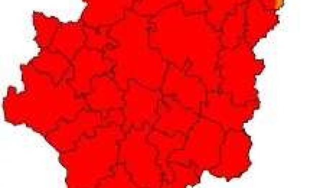Aragón está en prealerta roja por riesgo de incendios forestales