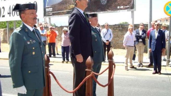 Fernández de Mesa preside el acto en Segovia