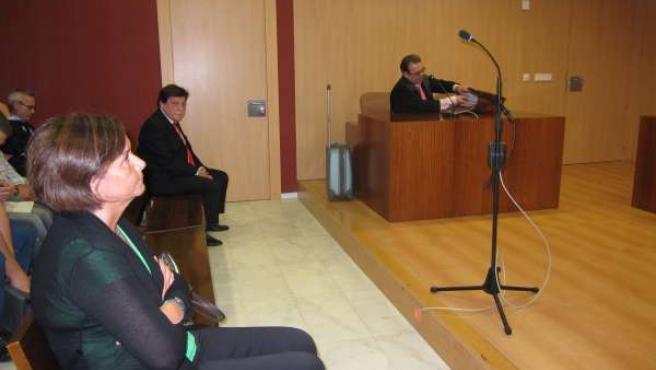 Carmen Moriyón y Ángel Luis Torres