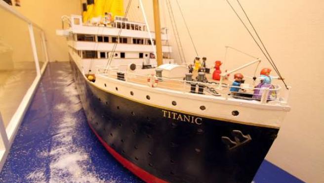 Reproducción del Titanic de los clicks en Benidorm