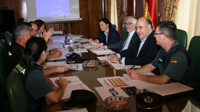 Reunión sobre el desarrollo del Plan
