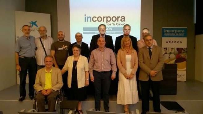 Entidades sociales que han renovado el convenio de Incorpora con 'la Caixa'