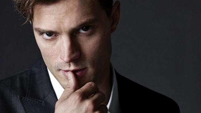 El actor Jamie Dornan en el papel de Christian Grey en 'Cincuenta sombras de Grey'.