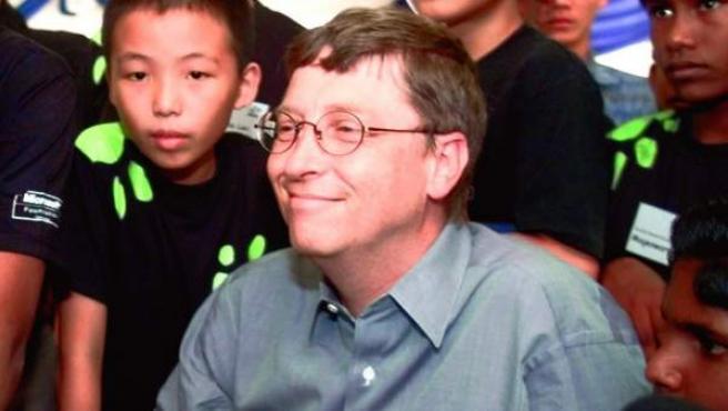 Bill Gates, fundador de Microsoft, se ha convertido en un filántropo de la tecnología para todos.