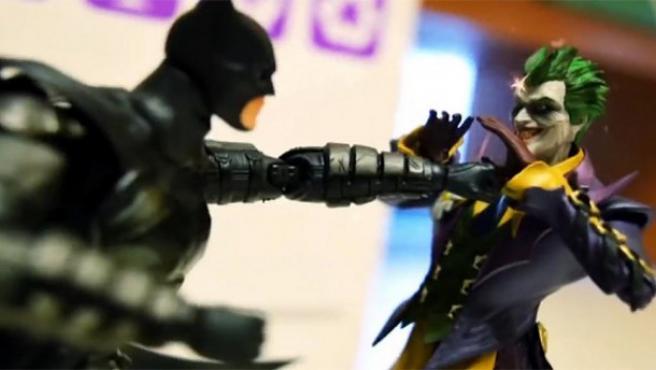 Vídeo del día: Batman (y alguien más) lucha contra Joker en 'stop motion'