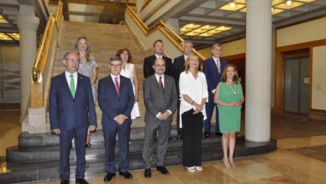 Nuevo Gobierno de Aragón.