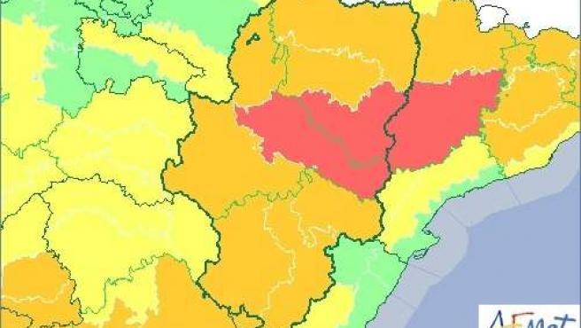 Aviso de nivel rojo por temperaturas extremas