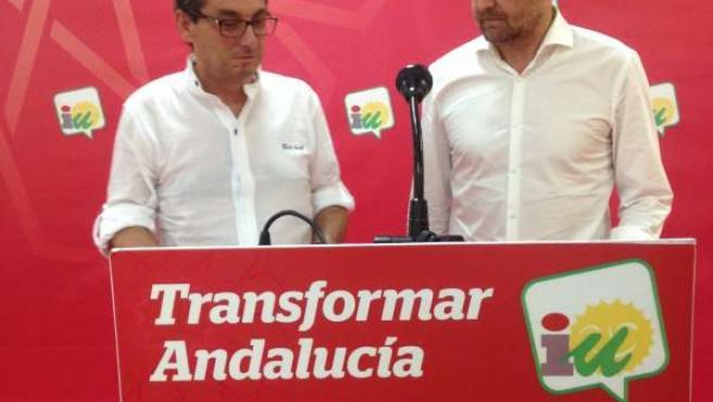 Centella y Maíllo este martes en rueda de prensa en Sevilla