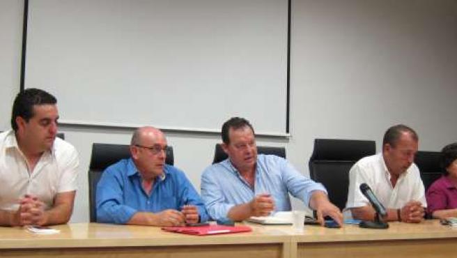 Miembros de ASAFRE han explicado la situación de los afectados por las riadas