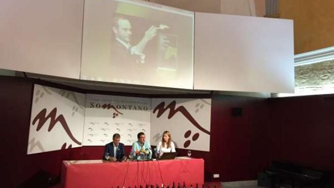 Presentación del Festival Vino Somontano 2015