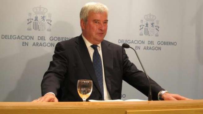 El delegado del Gobierno en Aragón, Gustavo Alcalde