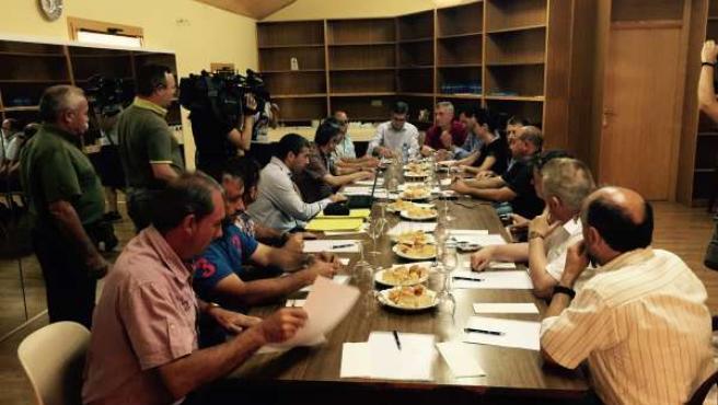 Reunión de los consejeros con los alcaldes, este miércoles en Biota