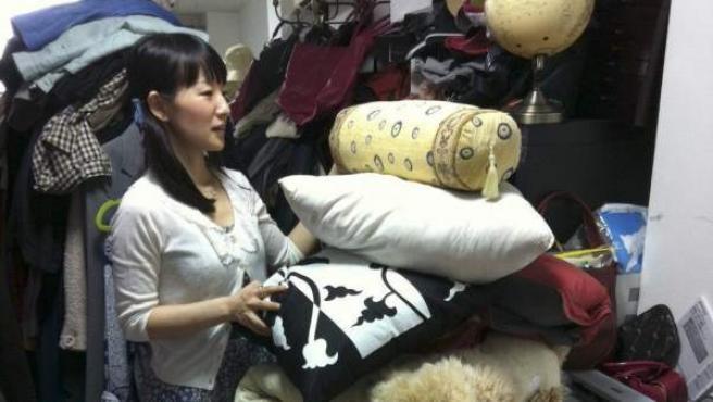 La escritora japonesa Marie Kondo.