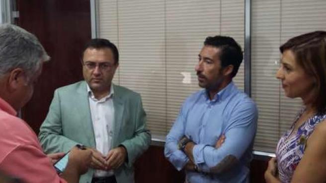 Heredia visita la empresa Catering Mendoza y Palomo