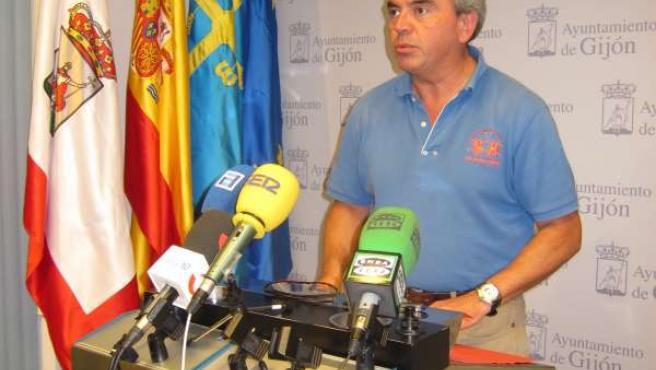 Marín, en rueda de prensa.
