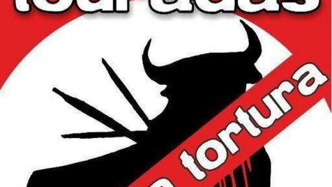 Pancarta de 'Touradas fóra de Pontevedra'
