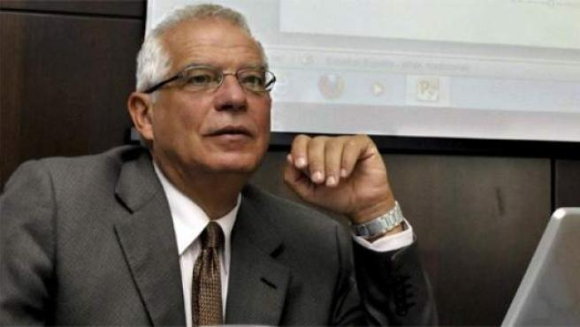 El ex presidente del Parlamento Europeo, Josep Borrell.