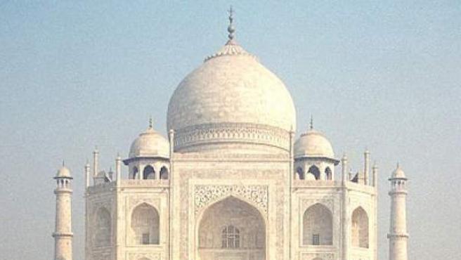 Foto del Taj Mahal, India.