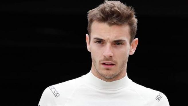 Imagen del piloto francés de la escudería Marussia, Jules Bianchi, que sufrió un grave accidente en el GP de Japón de Fórmula 1.