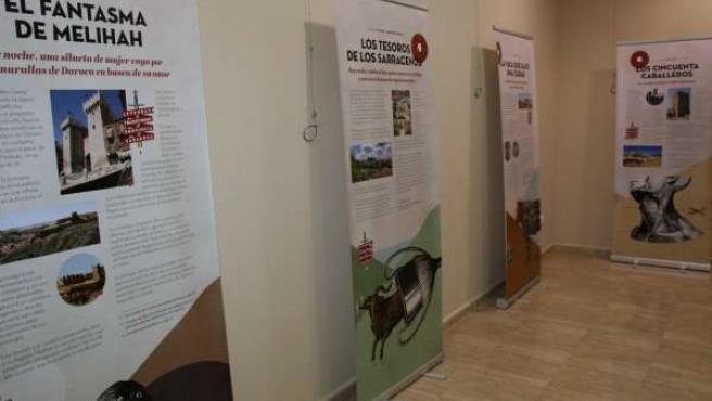 Exposición sobre leyendas y tradiciones.