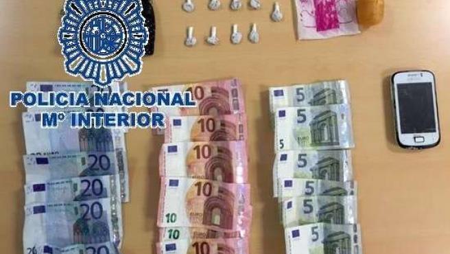 Policía droga desmantelado puntos de venta tráfico detenido