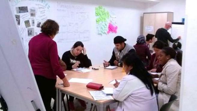 Taller personas inmigrantes Málaga Acoge balance 2014