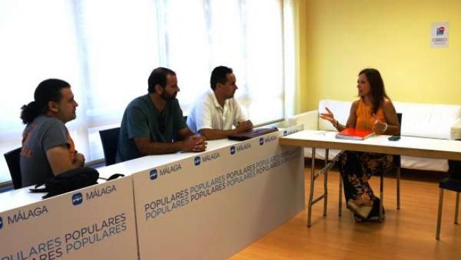Reunión del PP-A con el comité de empresa del Infoca