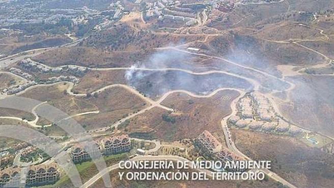 Incendio mijas infoca urbanización urbano