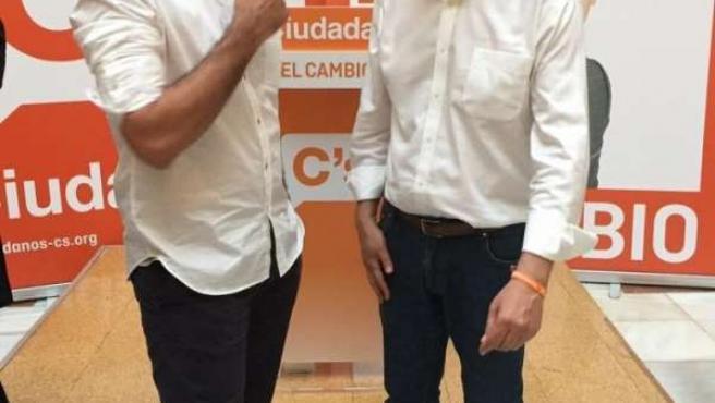 Rafael Luis Corrales y Juan Marín