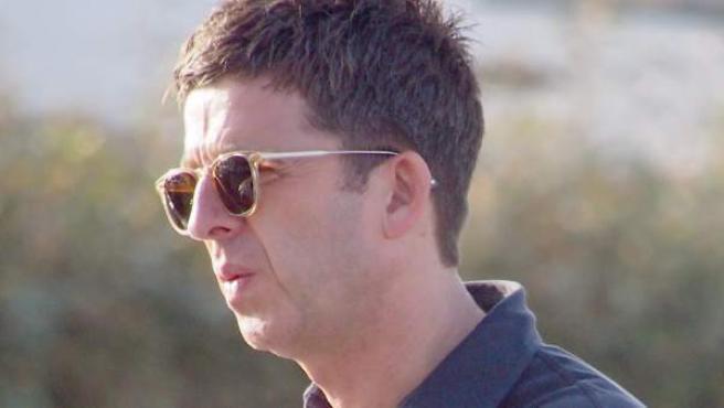 El músico inglés y exmiembro de la banda Oasis, Noel Gallagher, en una visita a España.