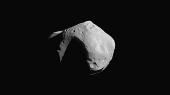 Imagen de un asteroide captada por la NASA.