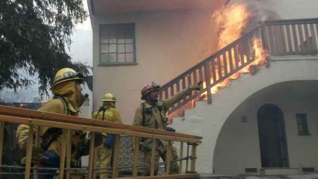El seguro de hogar es uno de los más contratados. Cubre, por ejemplo, daños por incendio en la vivienda.