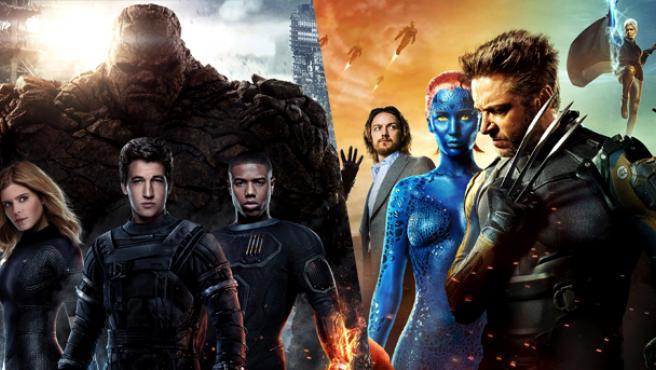 ¿Habrá película de X-Men y Cuatro Fantásticos en 2018?