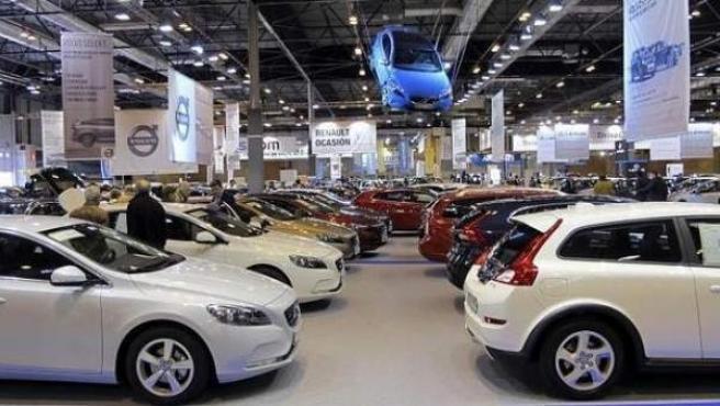Imagen de archivo del salón del Automóvil de Ocasión de Madrid en Ifema.