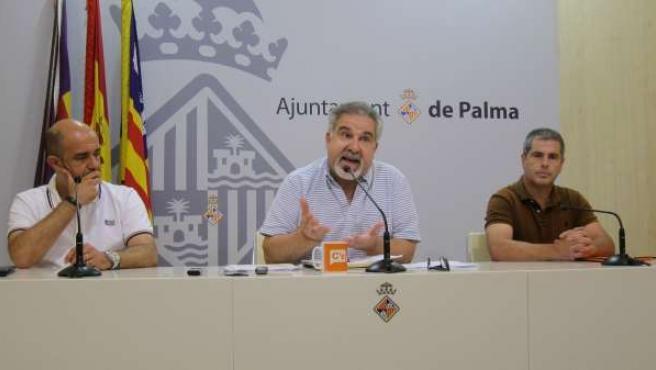 Ciudadanos (C's) Palma en rueda de prensa