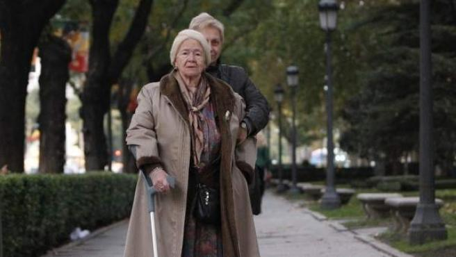 Dos afectadas por la Ley de Dependencia en Madrid.