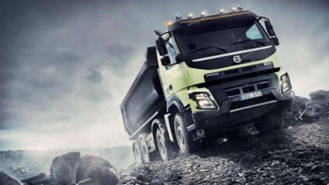 Camión de Volvo Trucks.