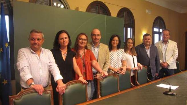 Los delegados territoriales de la Junta en Córdoba